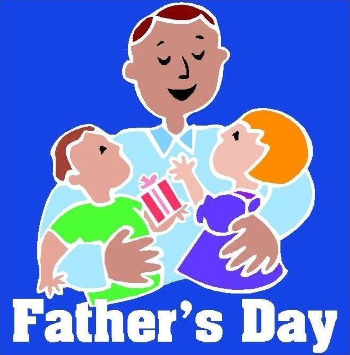 Image of Happy Father's Day from Kids
