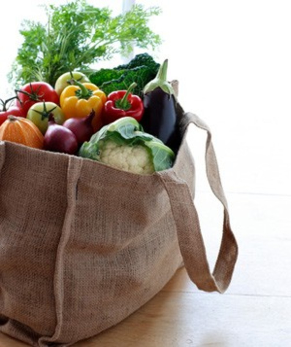 Shop with a good bag! Save Planet Earth!