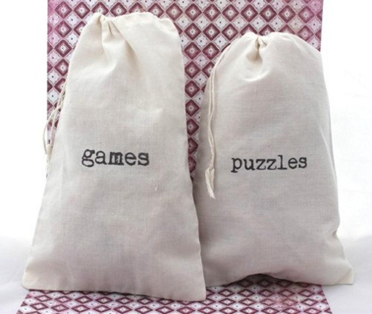 Muslin Cotton Drawstring Bags