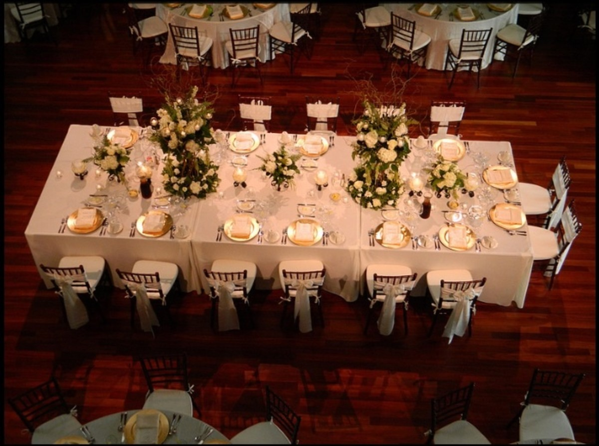 Reception Top Table