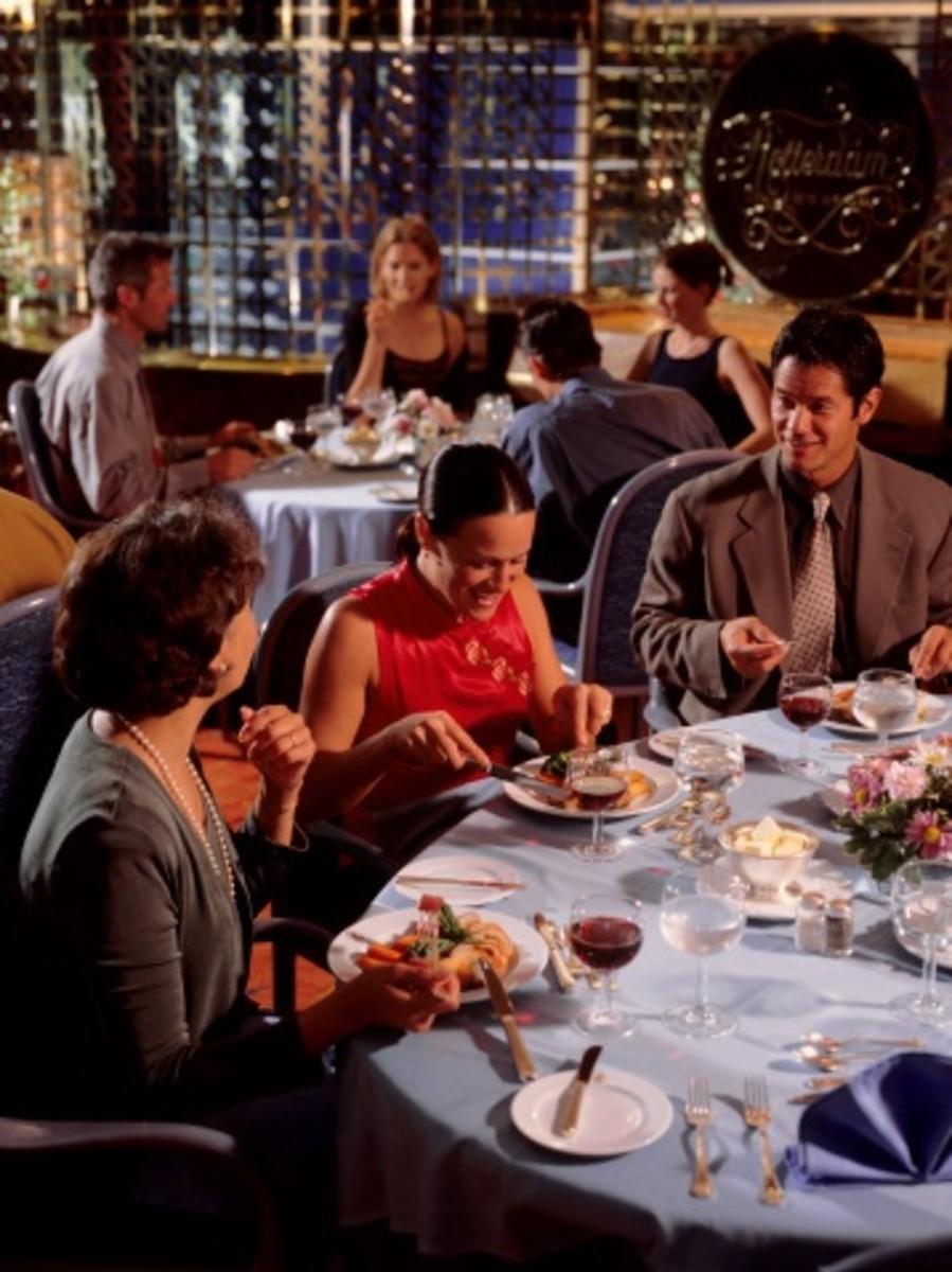 Guests Enjoying Meal At Wedding Reception