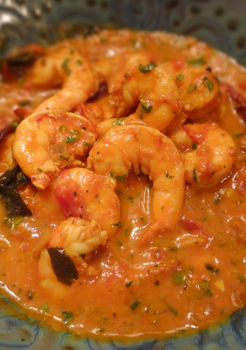 Goa Special Goan Prawn Curry