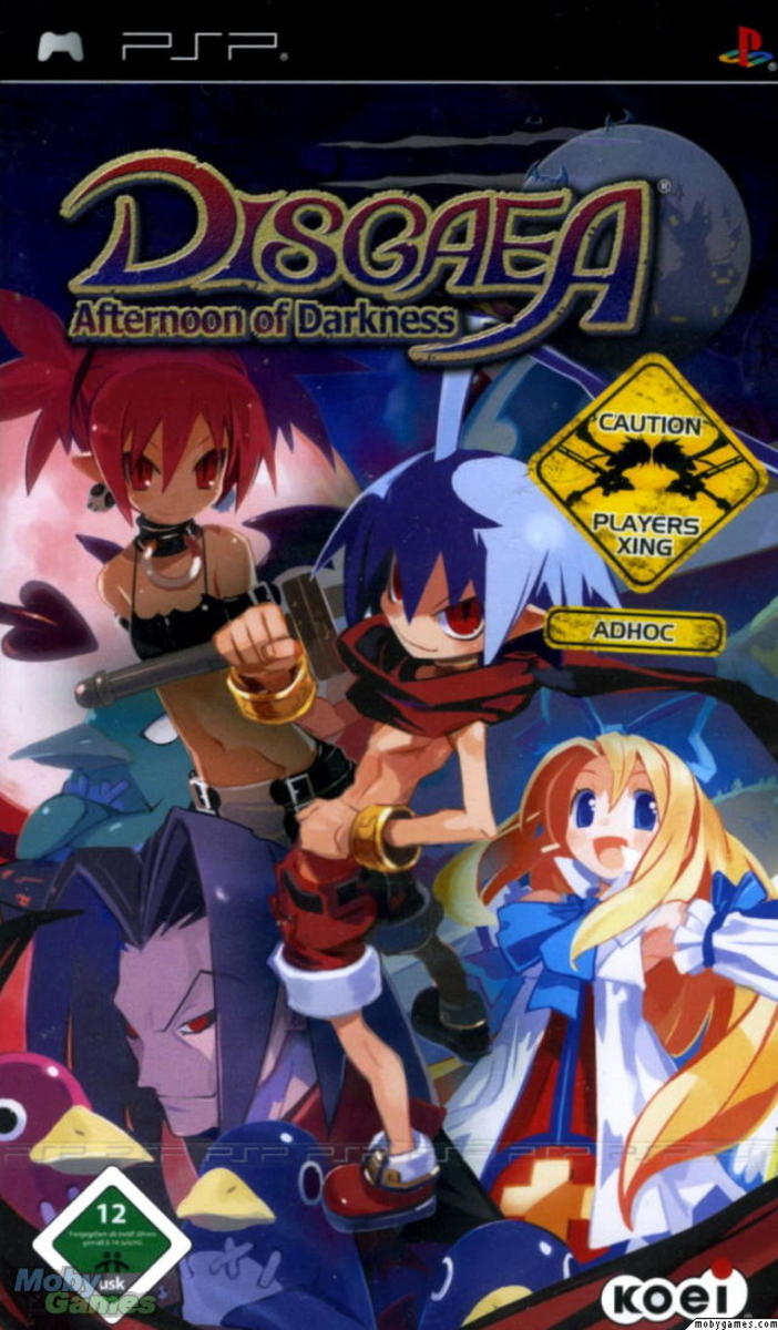 Disgaea : Afternoon of Darkness PSP cover