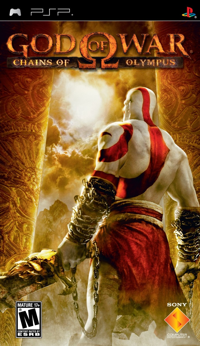 God of War : Chains of Olympus PSP cover