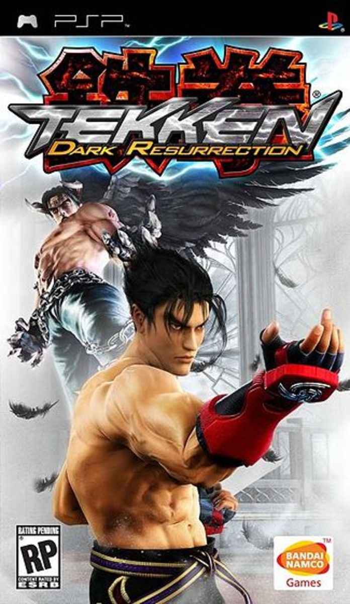 Tekken : Dark Resurrection PSP cover