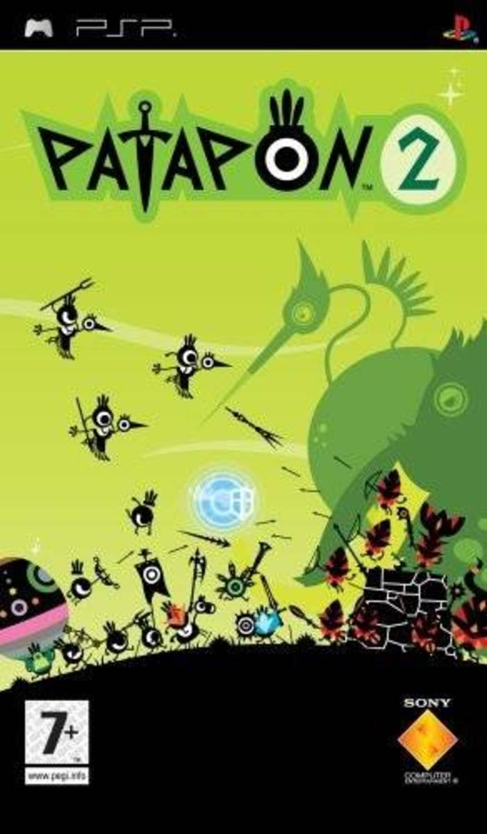 Patapon 2 PSP cover