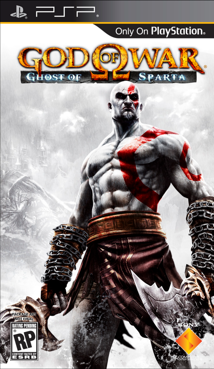 God of War : Ghost of Sparta PSP cover
