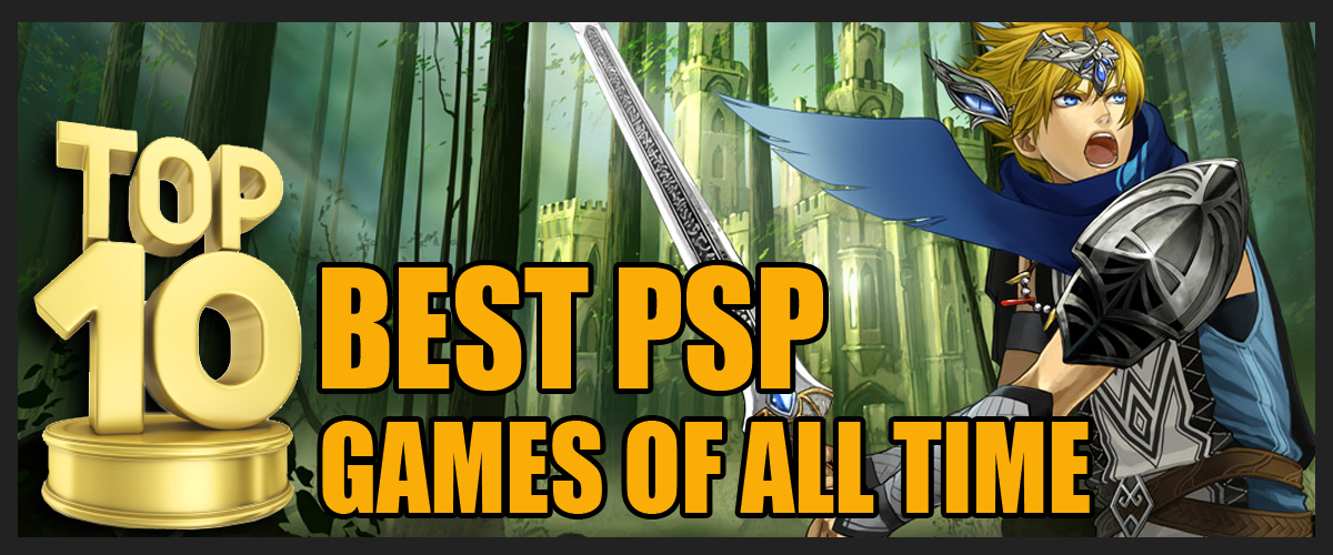 Top 10 Best PSP Games of all time
