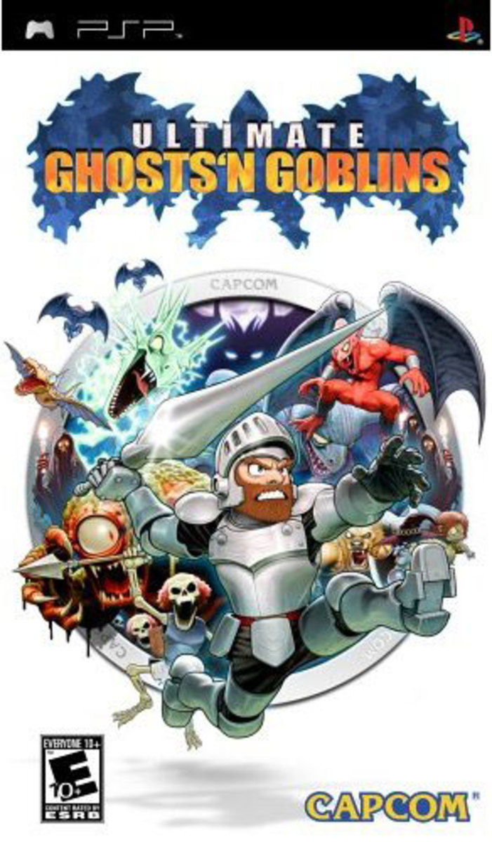 Ultimate Ghosts 'N Goblin PSP cover