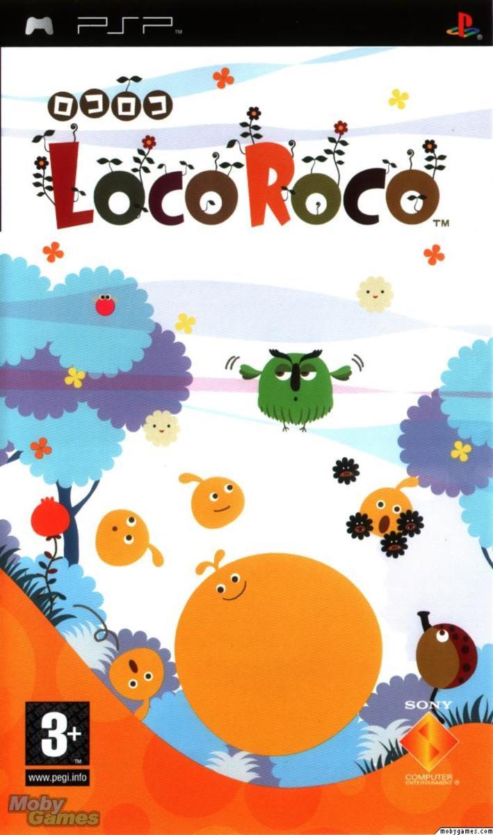 LocoRoco PSP cover