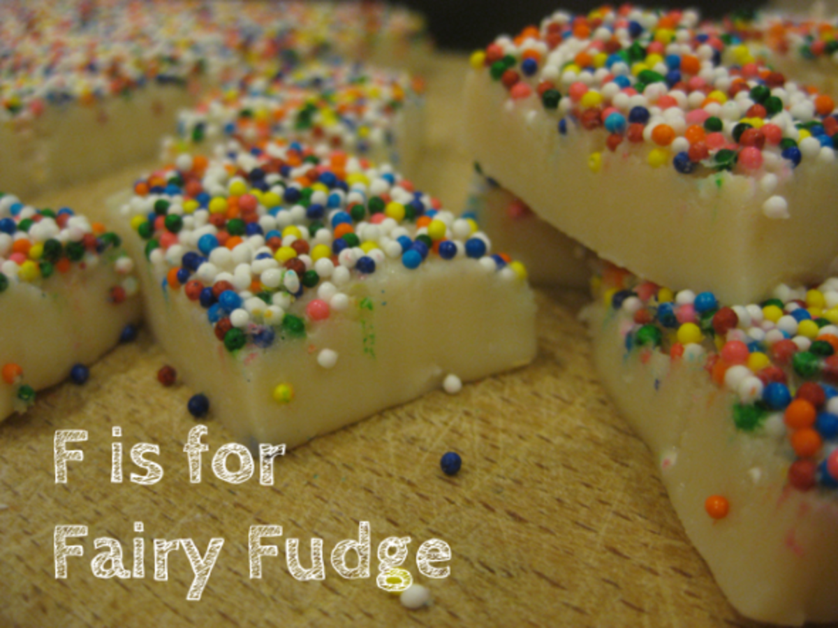 f is for fairy fudge alphabet activities for kids