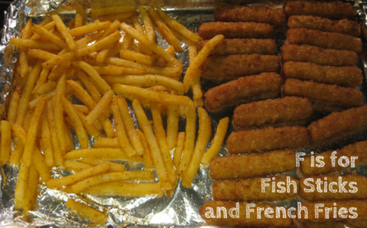 f is for fish sticks and french fries alphabet activities for kids
