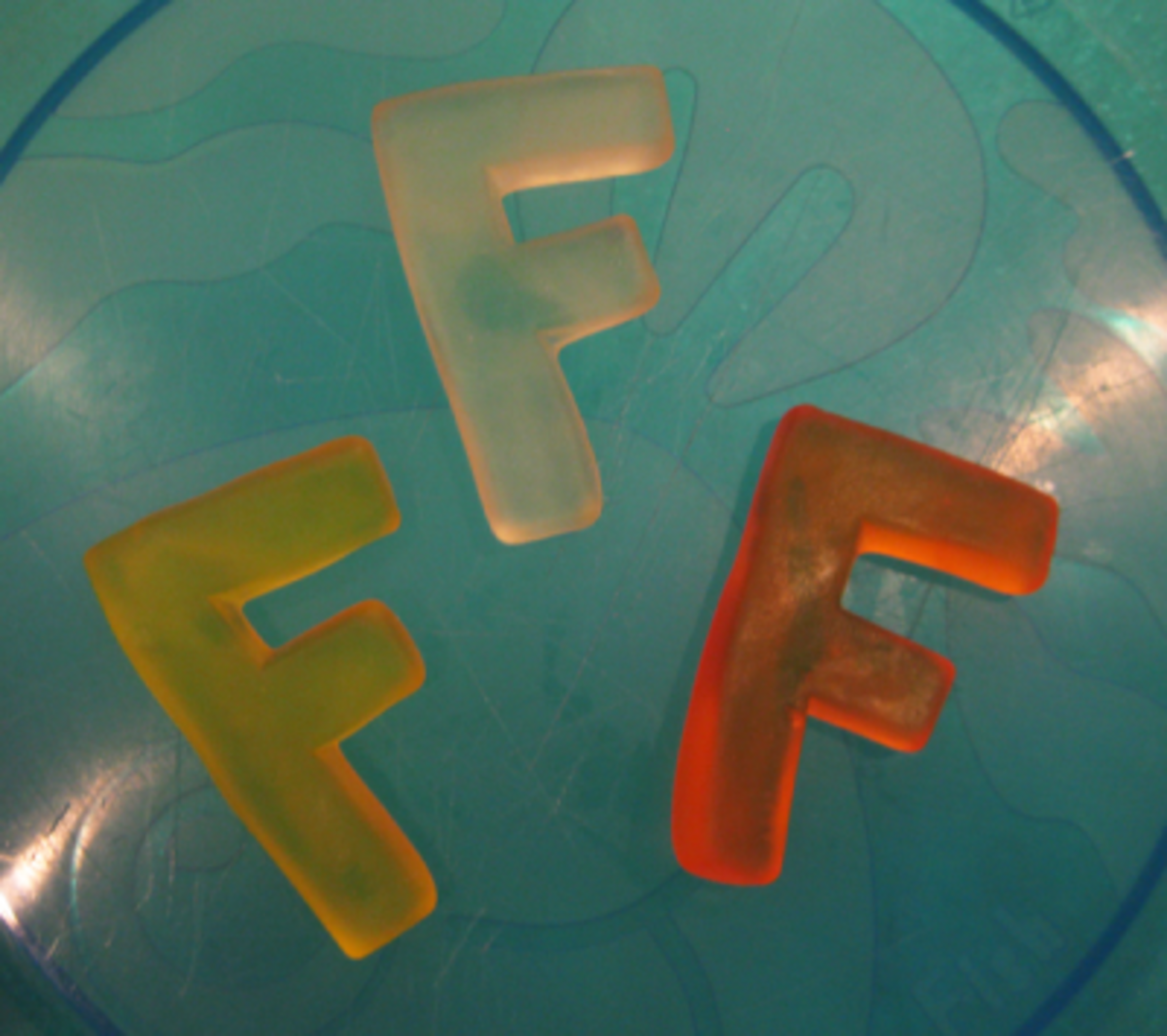 Letter F Gummies