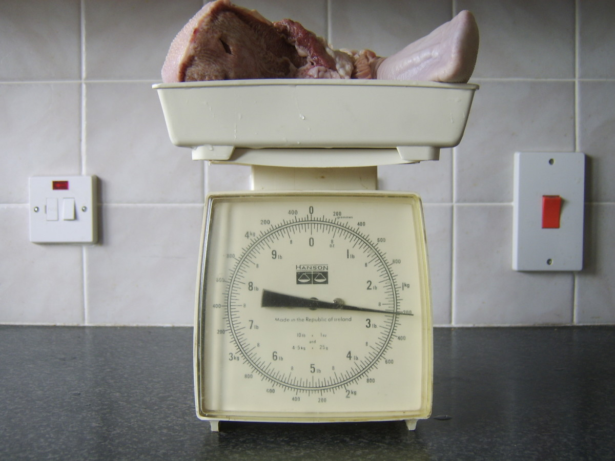 Beef tongue should be cooked for one hour per pound of weight, so weighing it allows you to see the cooking time at a glance. This means you can get it cooking and go away and leave it to its own devices for the prescribed period of time