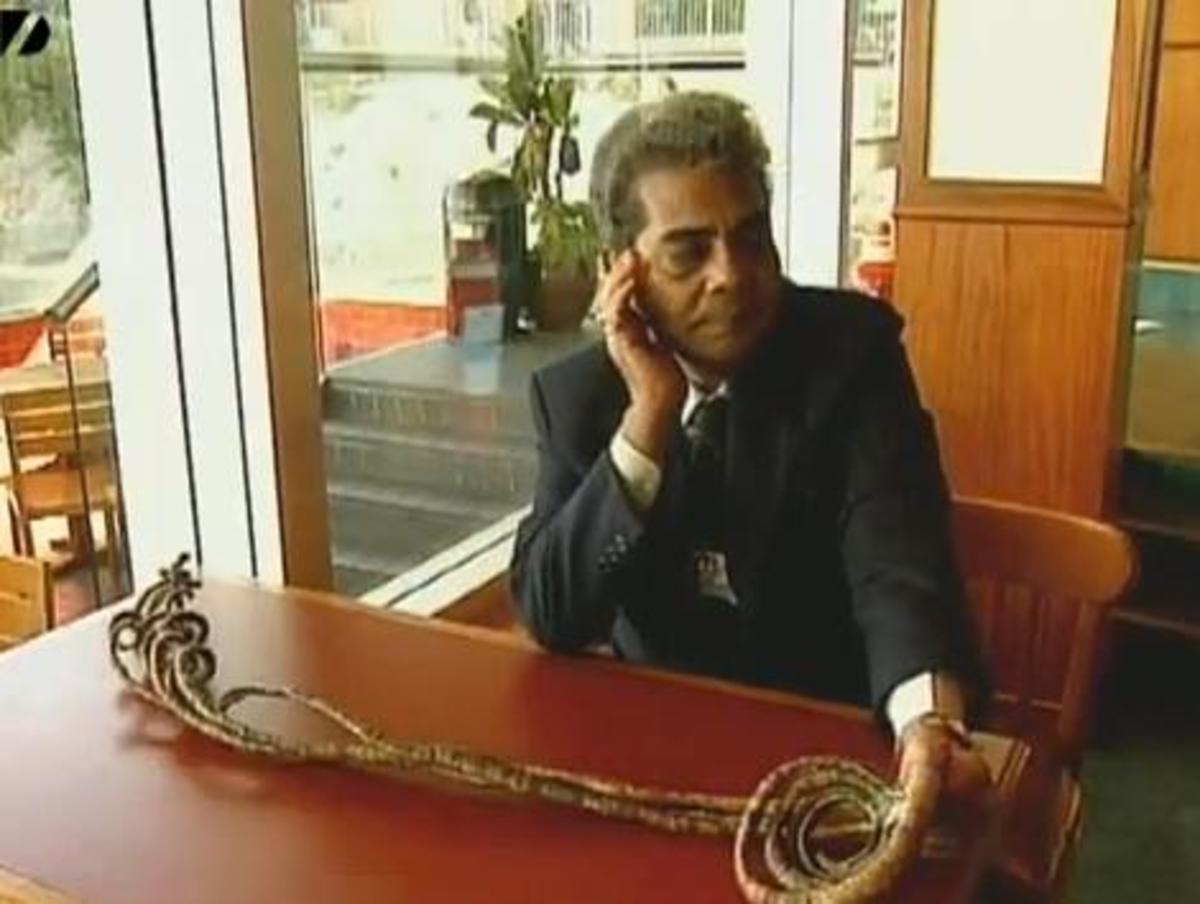Shridhar Chillal held the record for the world's longest fingernails