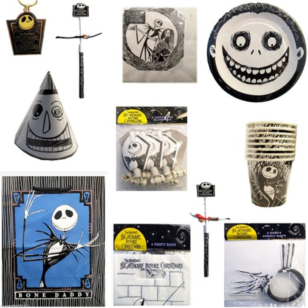 Nightmare before christmas birthday supplies