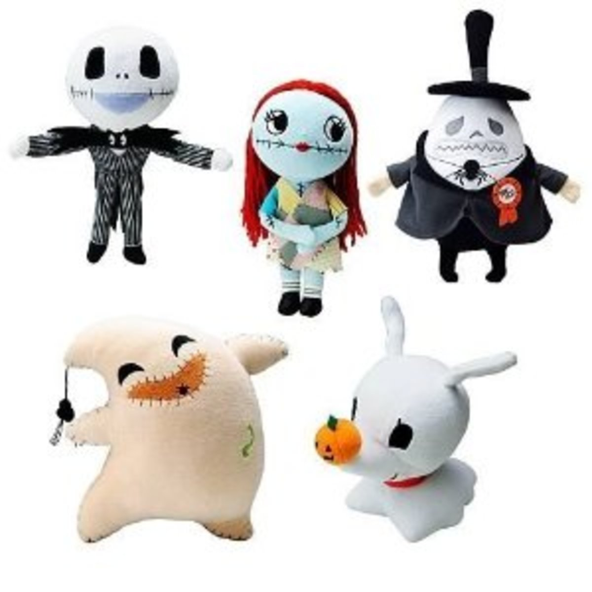 Nightmare Before Christmas Plush set