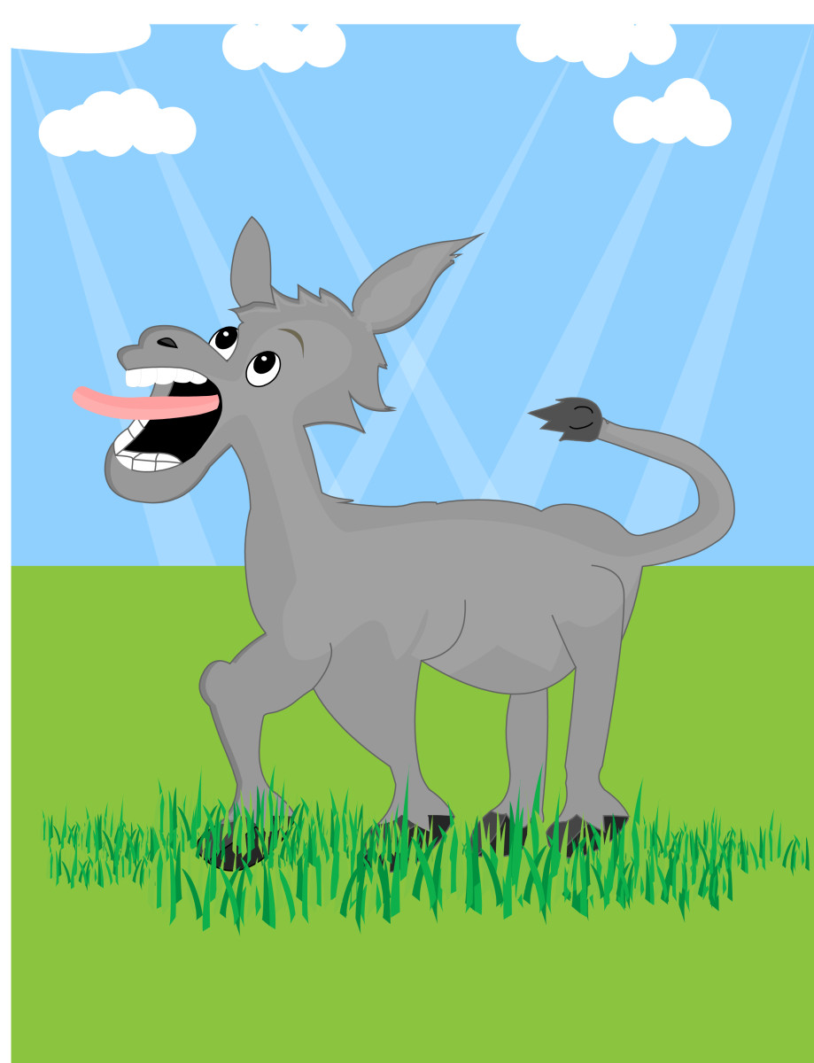 Panchatantra stories - The donkey with no brains