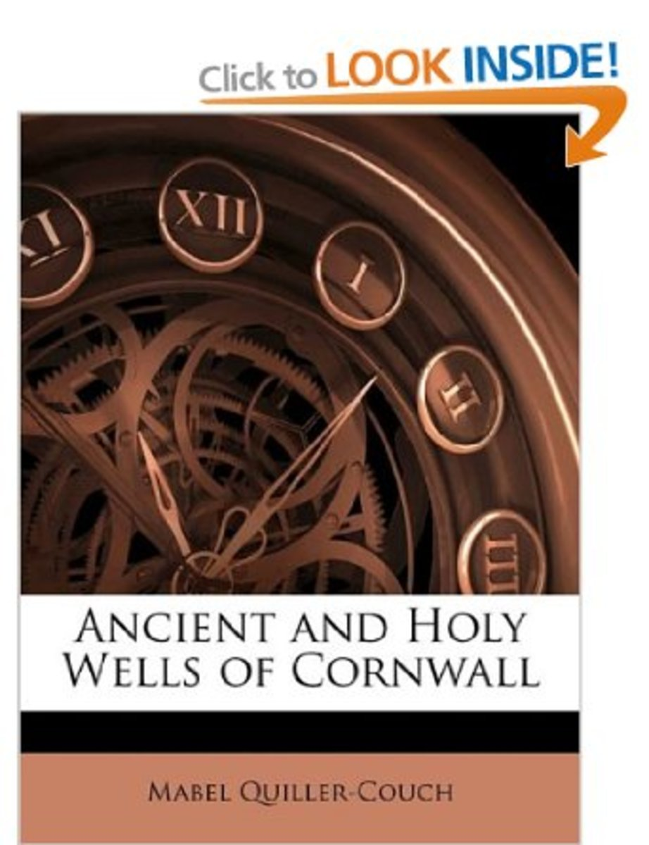 Ancient and Holy Wells of Cornwall, Mabel Quiller-Couch.  First published 1894. ISBN 1141364654