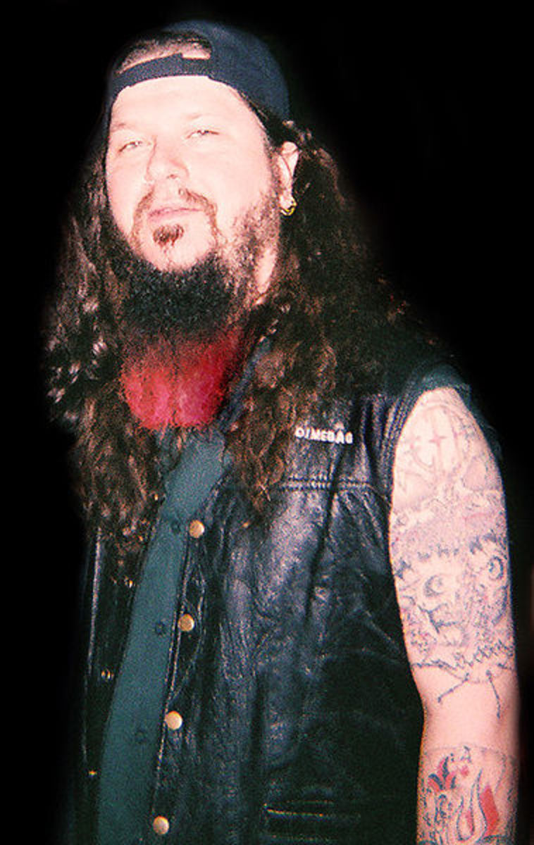 Dimebag Darrell - May he rest in peace.