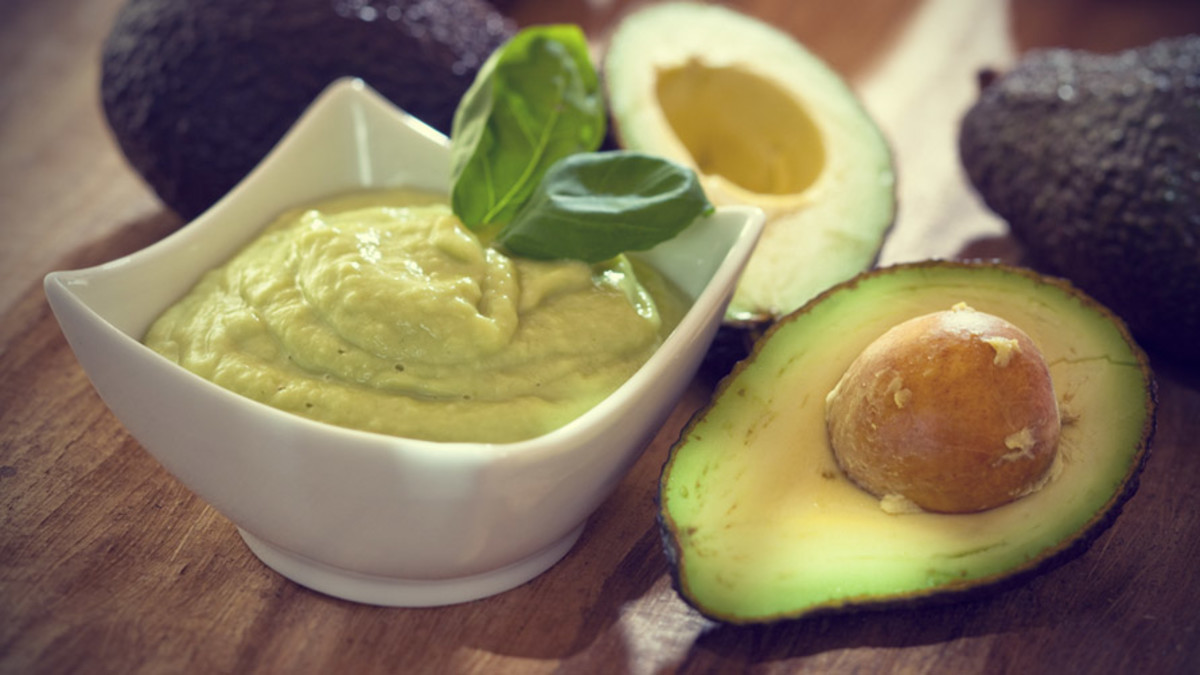 Avocado and Olive Oil Hydrating Facial Mask