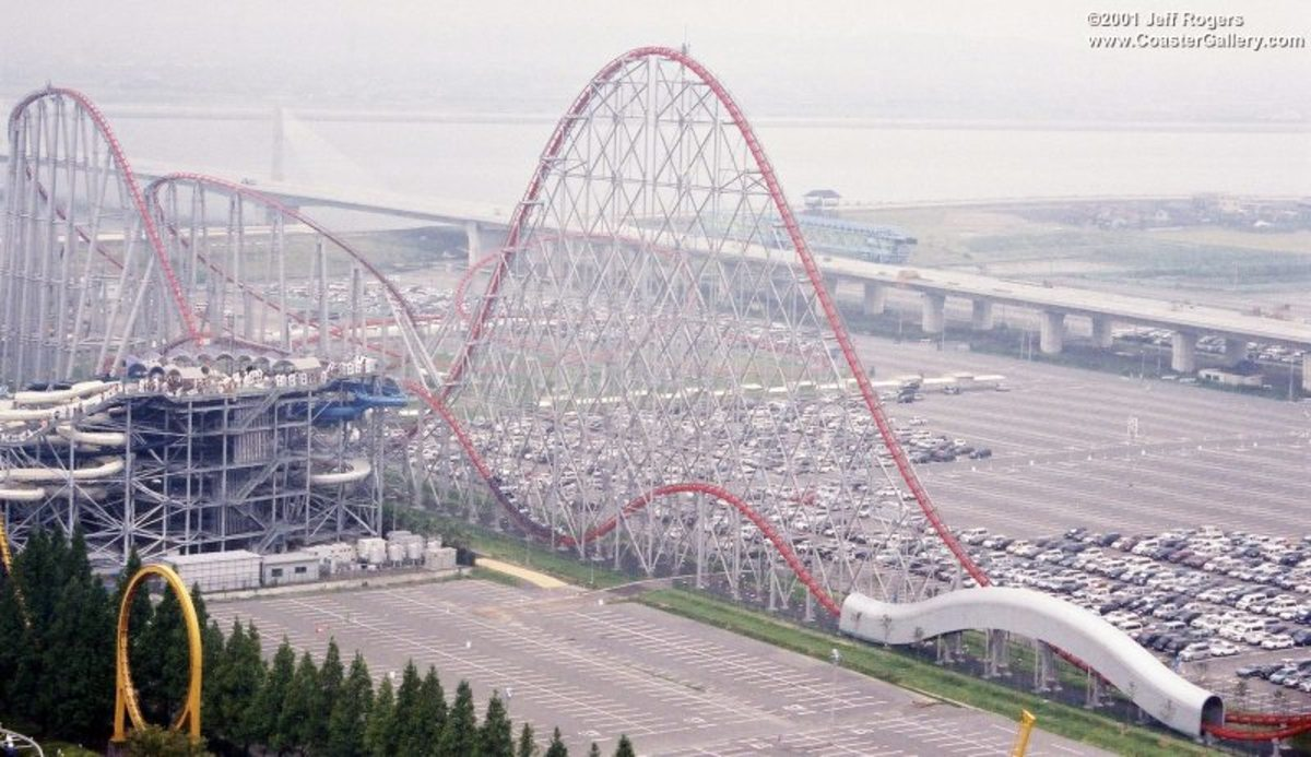 Top 5 Tallest Roller Coasters In The World
