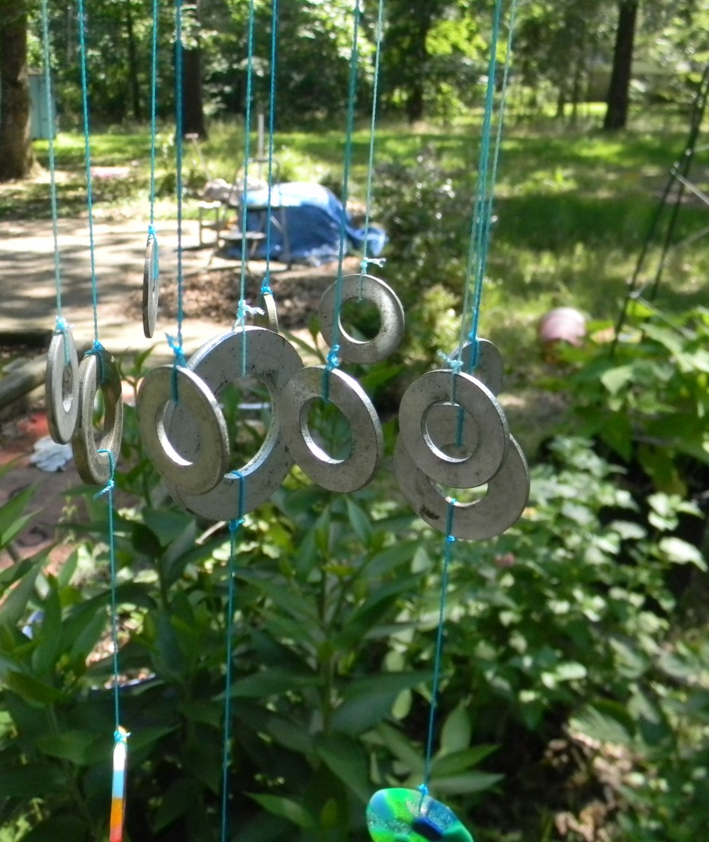 Make a Wind chime with Washers and other Decorative Ideas
