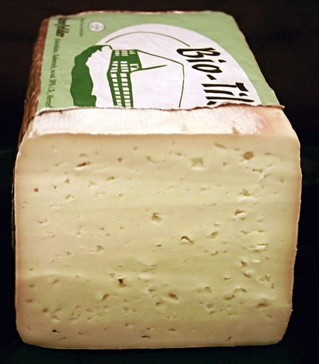 Swiss Tilsit/ Tilsiter cheese