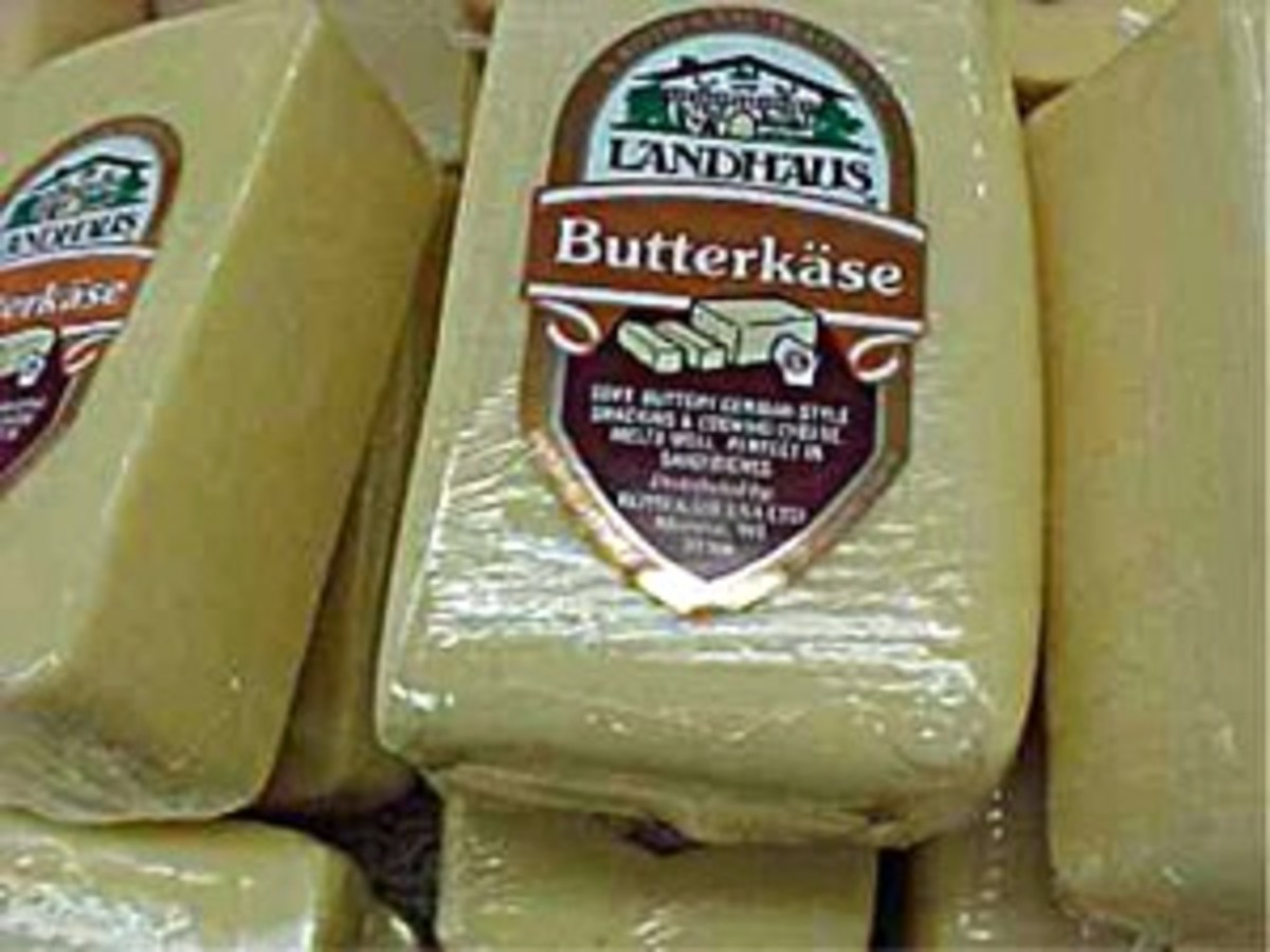 German Butterkase cheese
