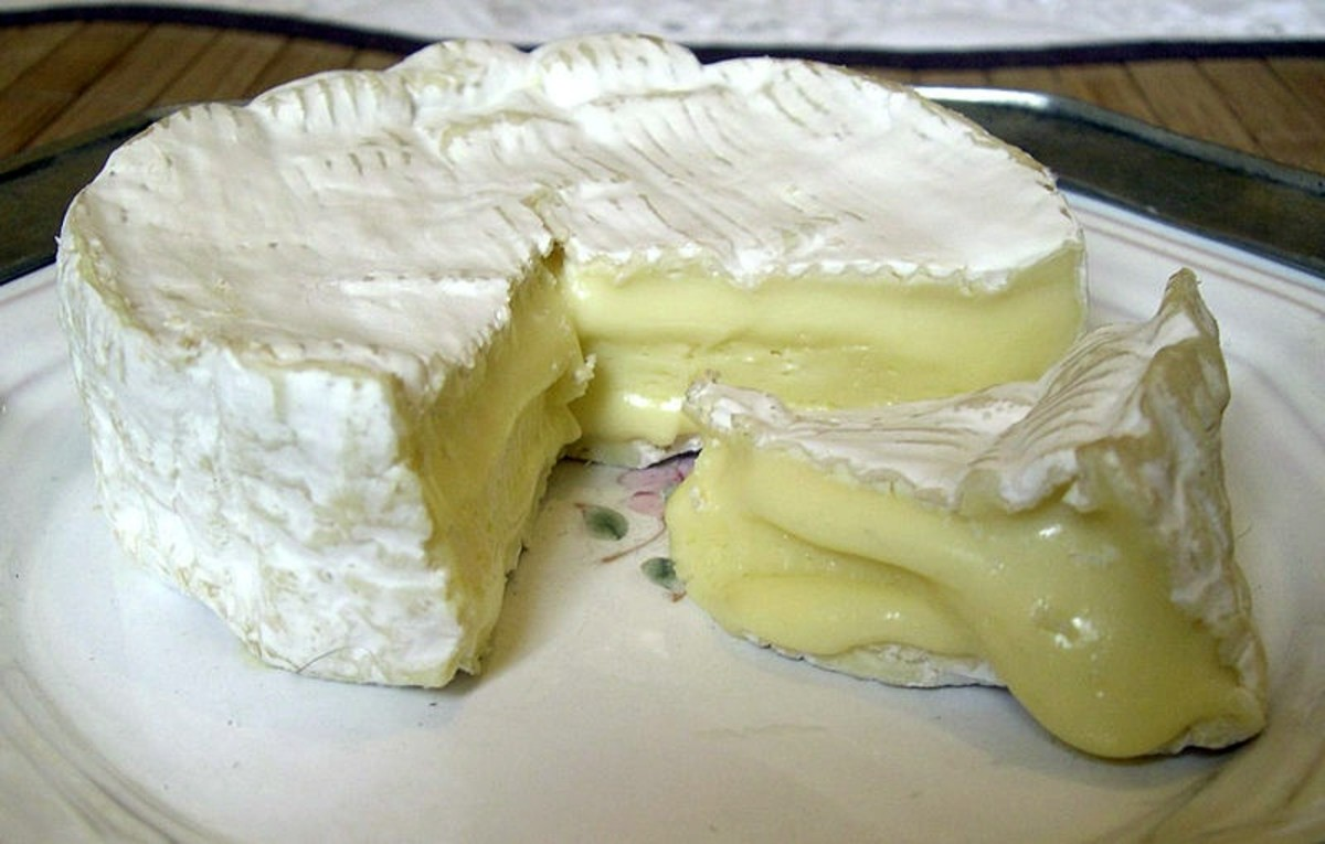 French Camembert cheese