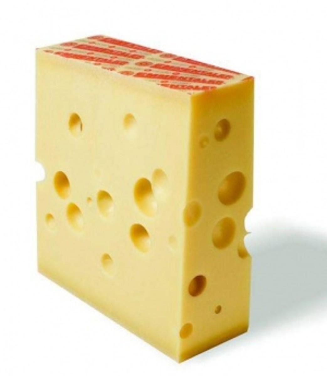 German Allguer Emmentaler cheese