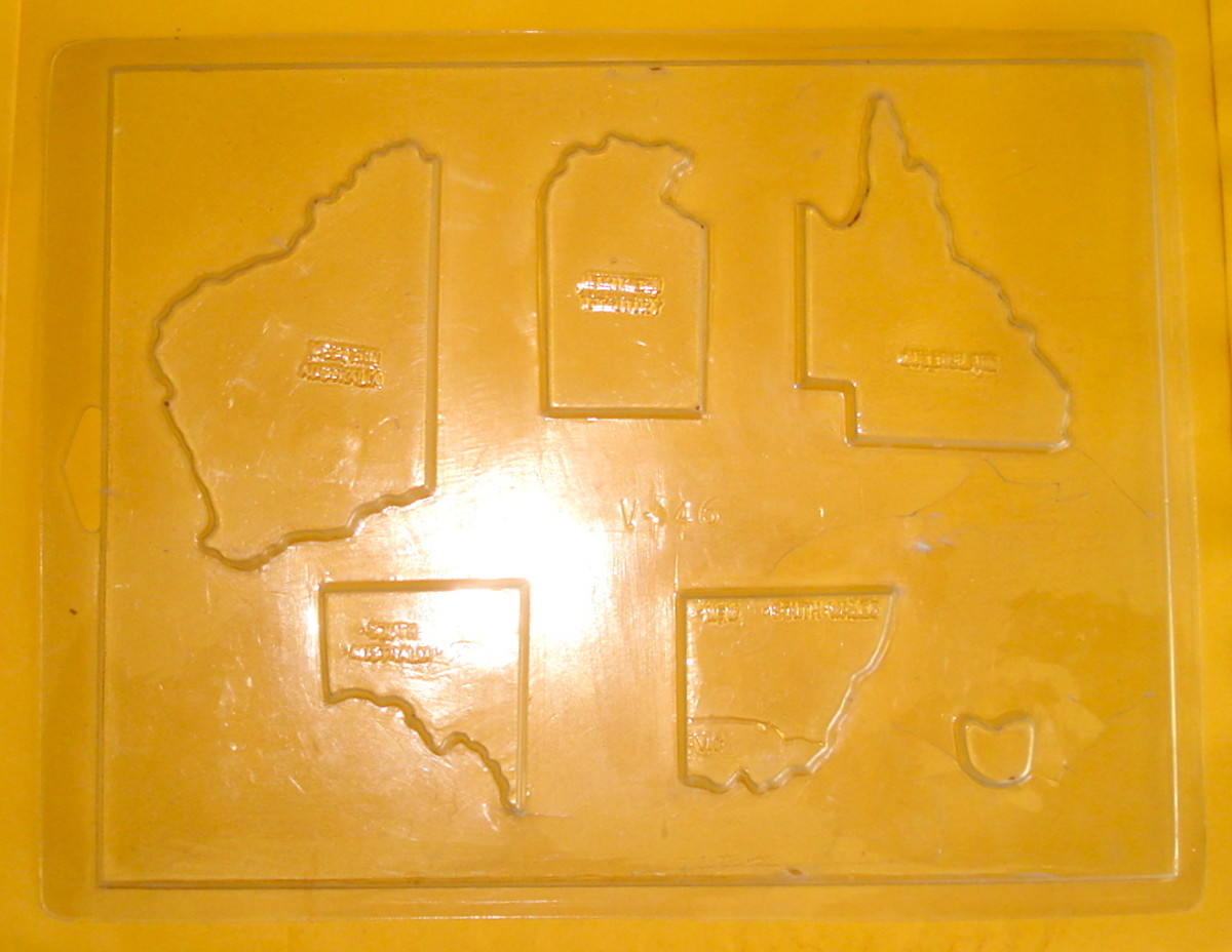 A Mould of the States of Australia