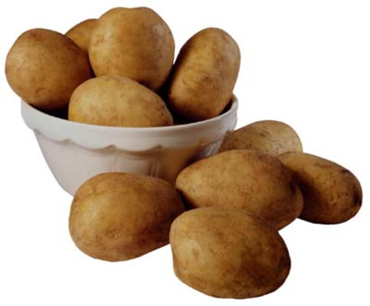Potato Revitalises Hair Growth