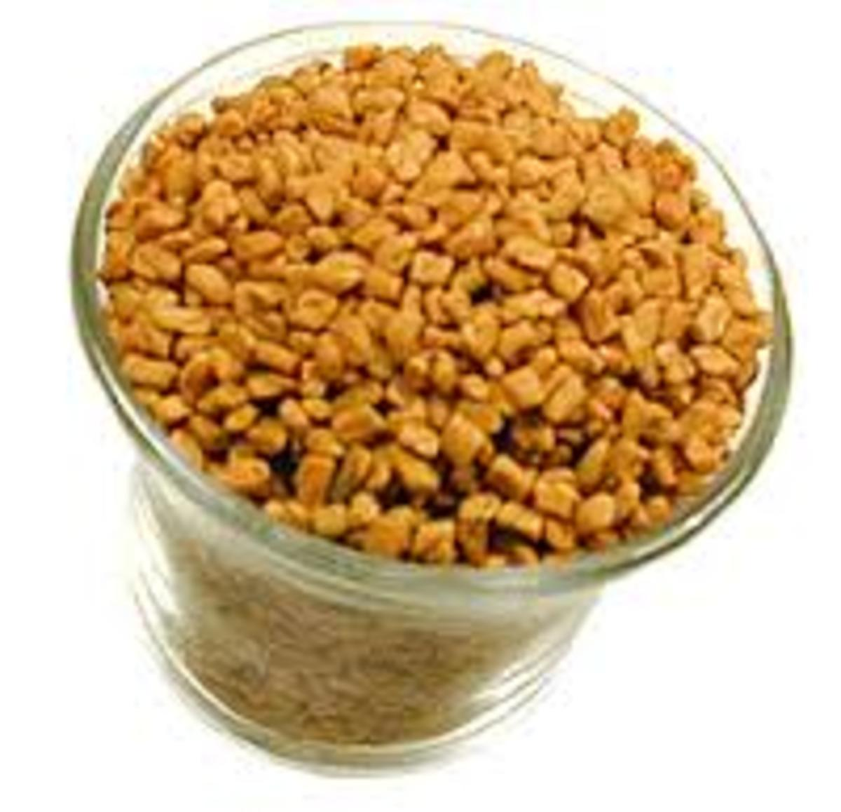 Fenugreek brings shine to your hair naturally