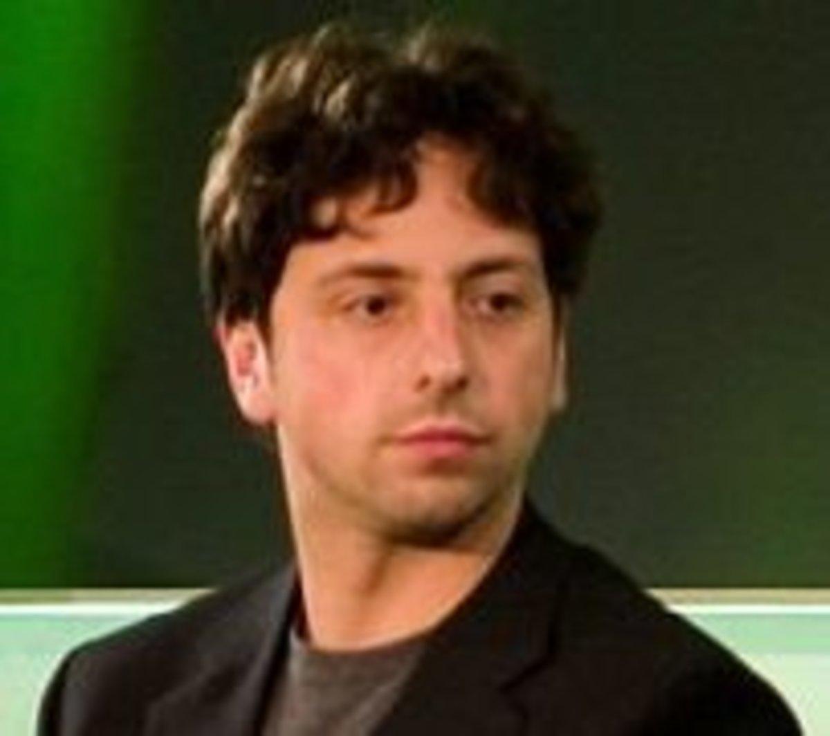 Sergey Brin, co-founder of Google.com