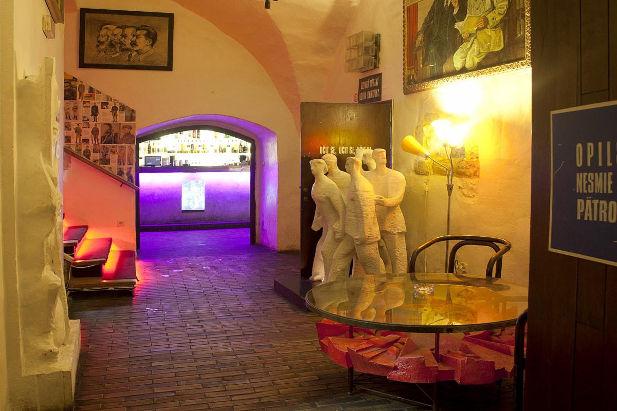 Inside the Propaganda Pub