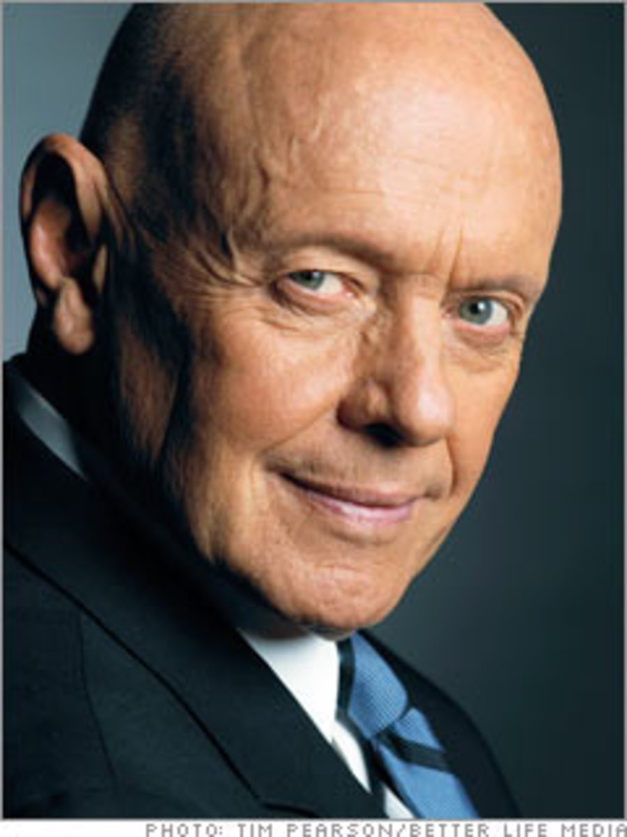 A photo of the late, great Stephen Covey