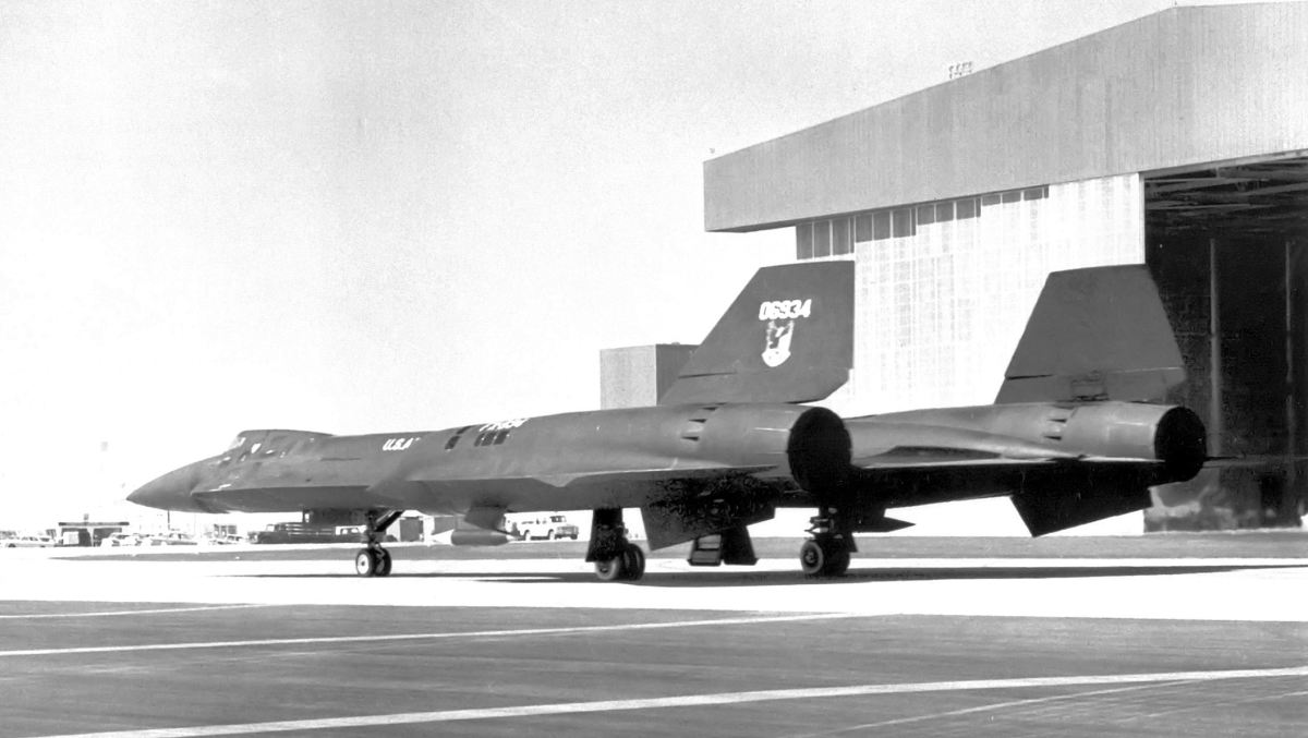 Unintended sightings of aircraft like this Lockheed YF-12A 60-6934 during its initial test flights may have been covered up by Project Blue Book.