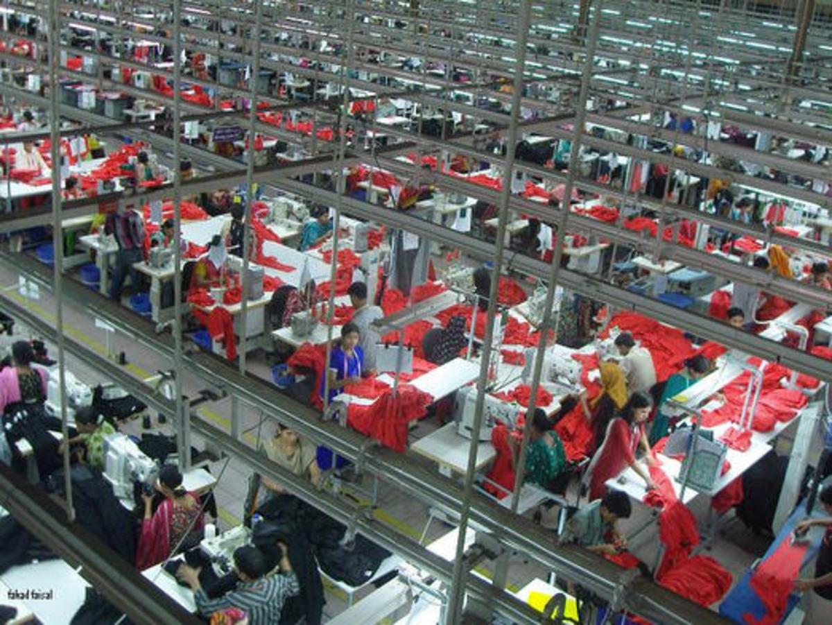 Garment made in Bangladesh
