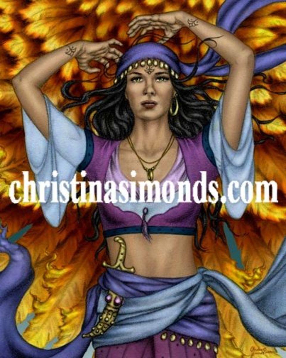 Goddess of Power - Portrait