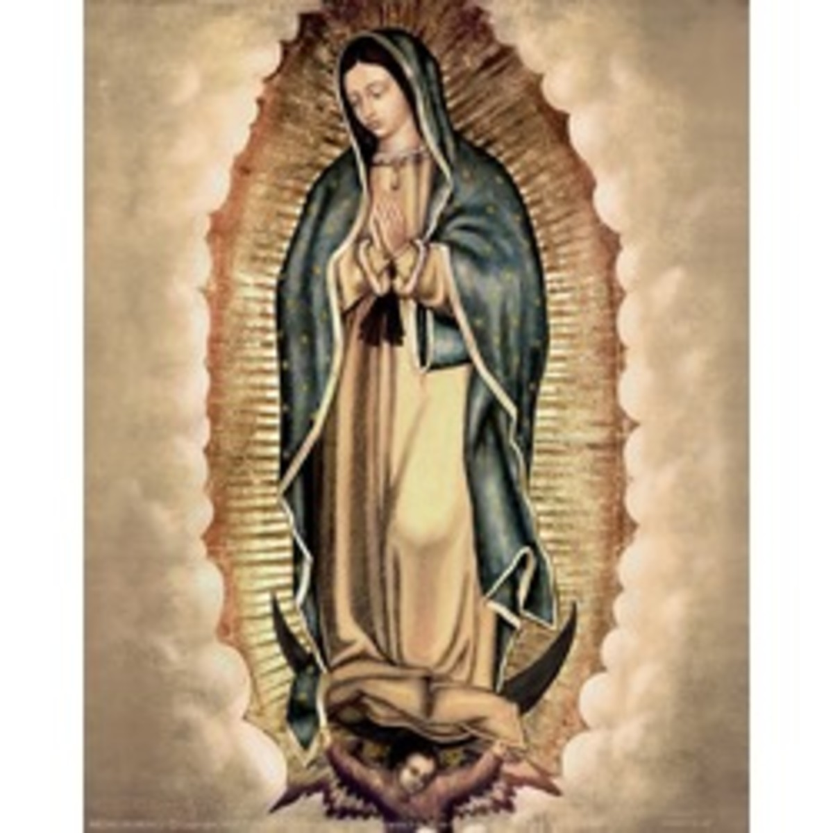 Lady of Guadalupe art