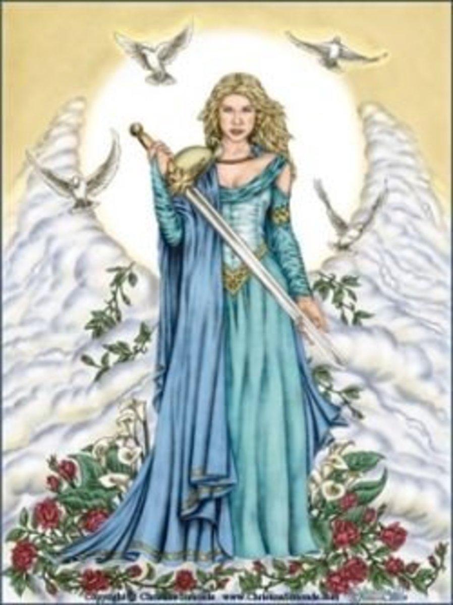 Azna the Mother God