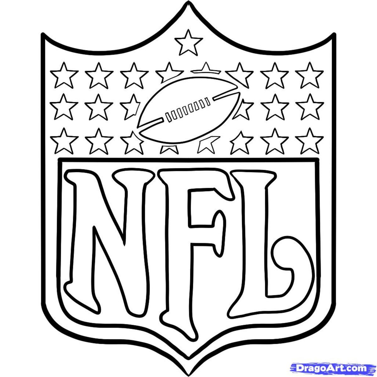 browns football coloring pages 2 - Football Coloring Book