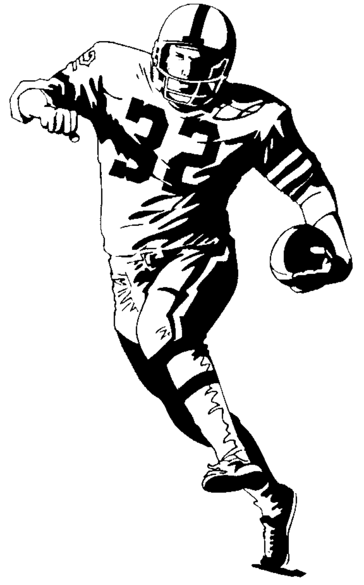 Football Coloring Pages amp Sheets For Kids Hubpages
