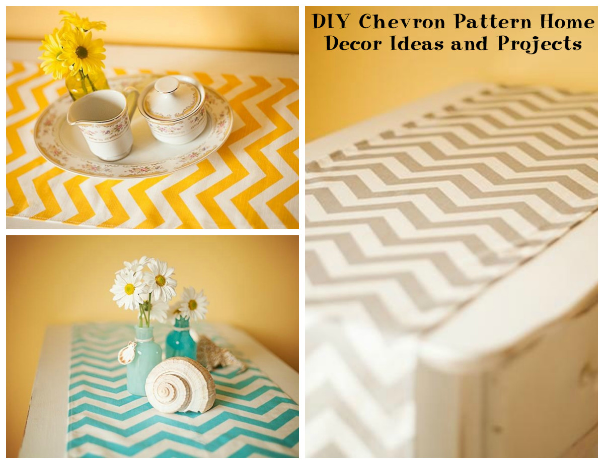 DIY Chevron Pattern Home Décor Ideas and Projects | HubPages