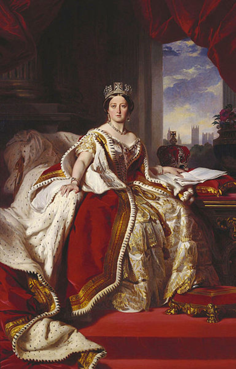 WASP idol: A young Queen Victoria as depicted by painter Franz Xaver Winterhalter.