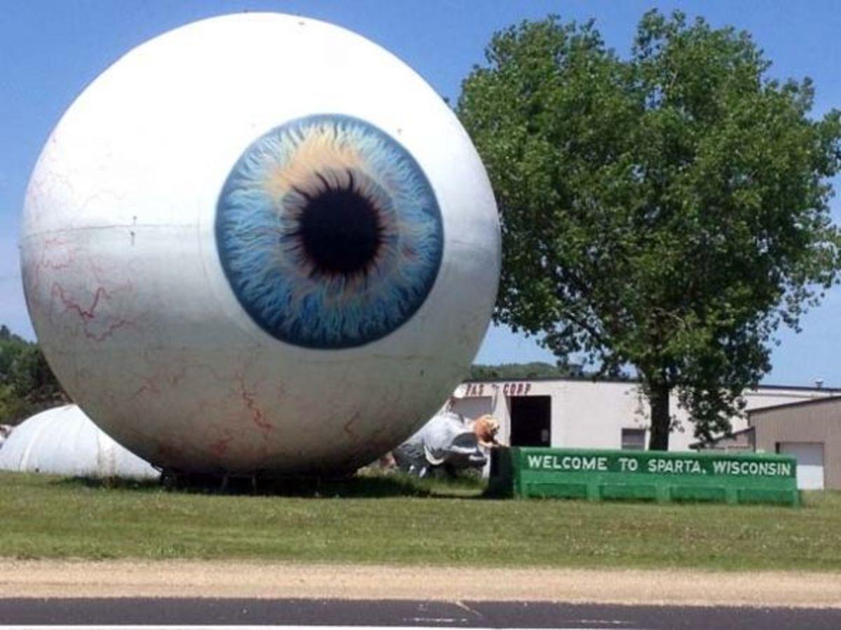 """Eye"" Found in Sparta, WI"