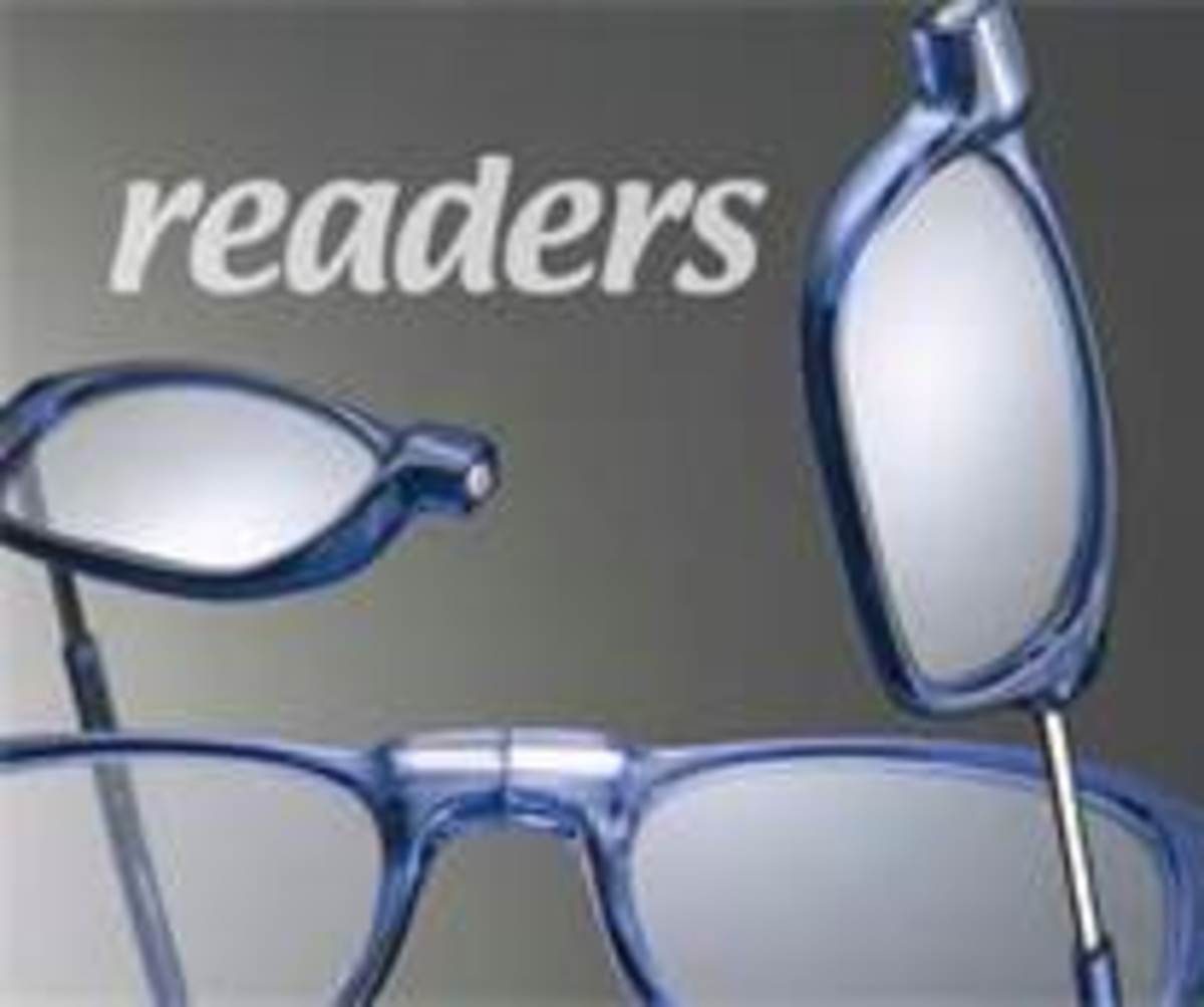 Over-The-Counter Cheaters/Readers: Are these reading glasses helpful or harmful?