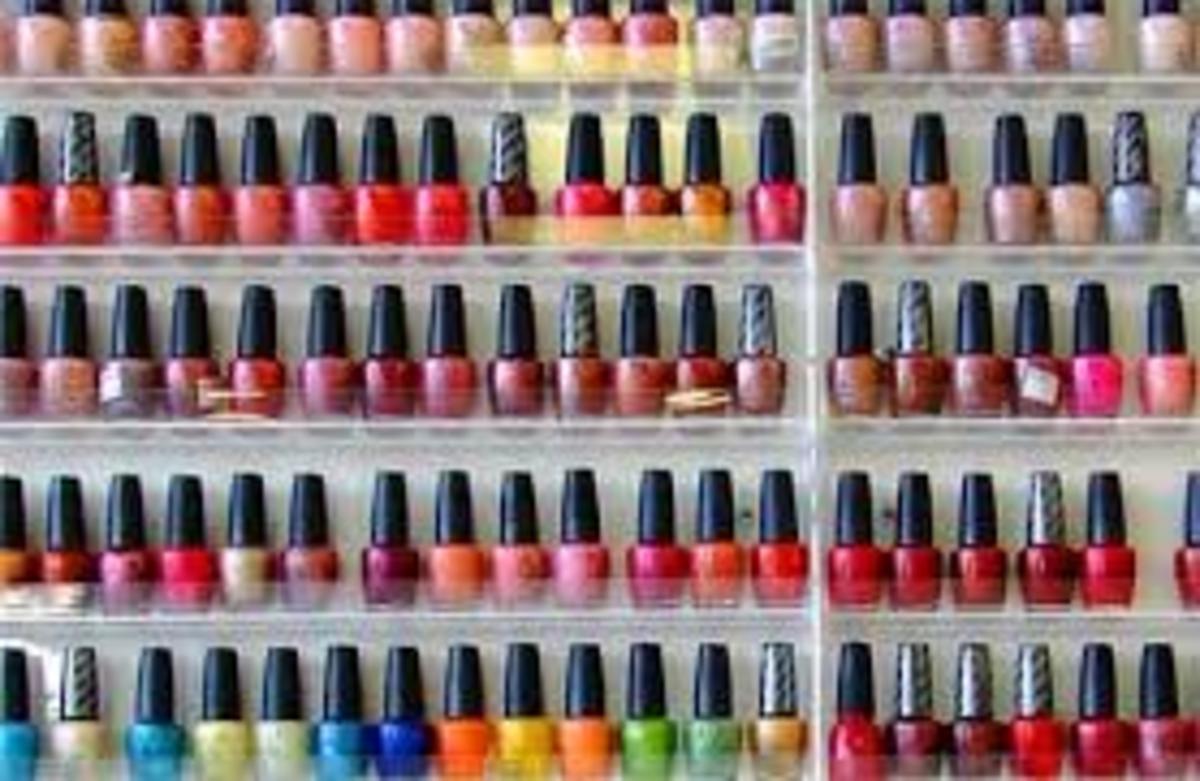 Nail colour can also make you feel good