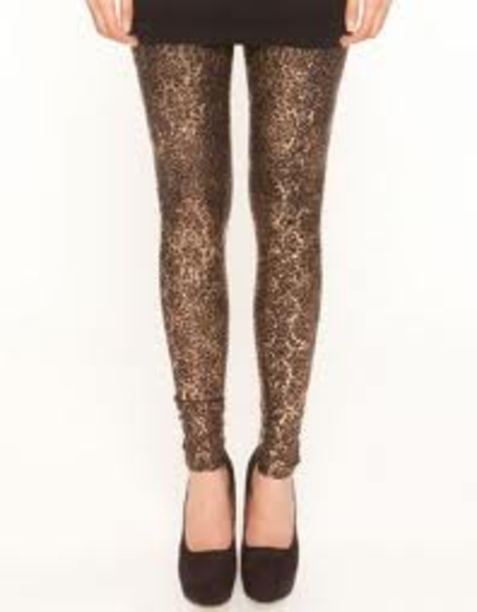 Leggings can be dressed up or down